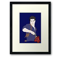 Uncharted Adventurer Framed Print