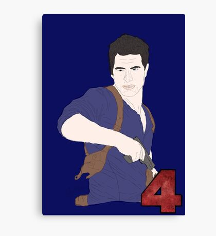 Uncharted Adventurer Canvas Print