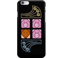 3 little pigs phone iPhone Case/Skin