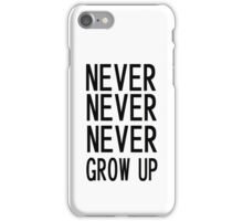 never ever iPhone Case/Skin