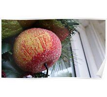 Christmas Apple Poster
