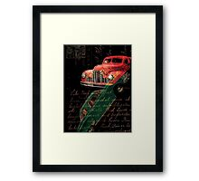Dark Car Framed Print