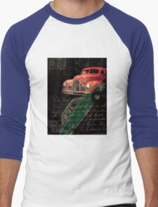 Dark Car Men's Baseball ¾ T-Shirt