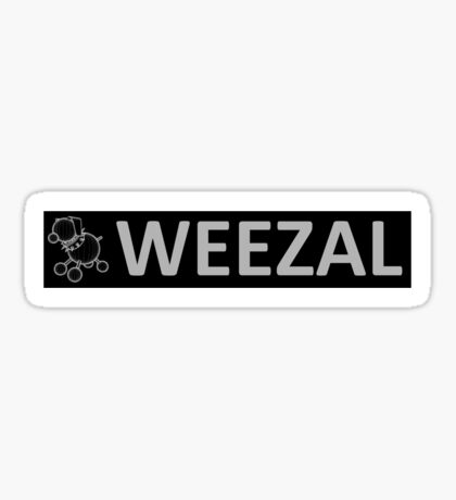 Weezal Plunge design 4 Sticker