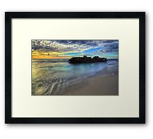 Last Light of Day Framed Print