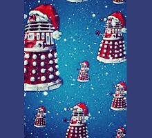 Christmas style Doctor who Daleks  Unisex T-Shirt