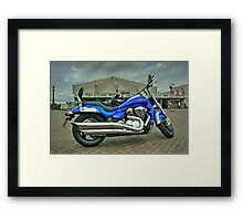 Suzuki Intruder  Framed Print