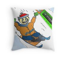 Trader Tobogan & Caricature Binary Options Binaires Throw Pillow
