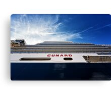 Cunard Canvas Print
