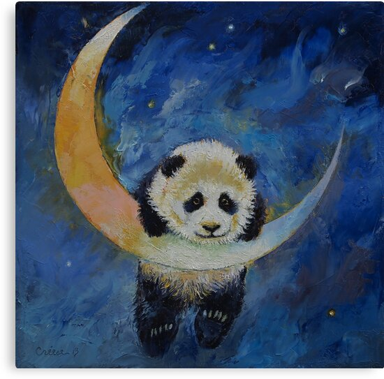 Panda Stars by Michael Creese