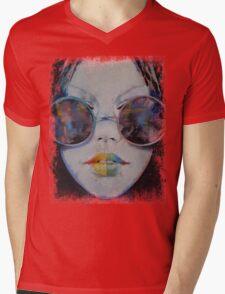 Asia Mens V-Neck T-Shirt