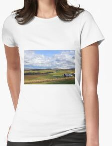 Farmland's Rolling Hills Womens Fitted T-Shirt