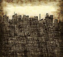 City utopia by Jean-François Dupuis