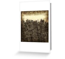 City utopia Greeting Card