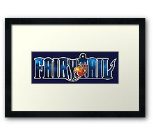 Fairy Tail Galaxy Framed Print