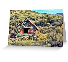 Basque Sheepherders Oven Greeting Card