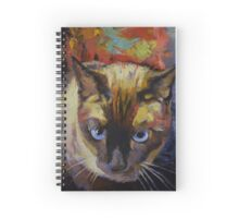 Seal Point Siamese Spiral Notebook