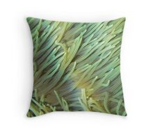 luminescent anemones Throw Pillow