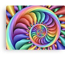 Rainbow Sherbert Canvas Print
