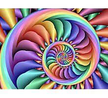 Rainbow Sherbert Photographic Print