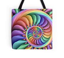 Rainbow Sherbert Tote Bag