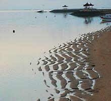 Dawn sea pagodas by Michael Brewer