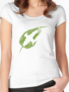 Leaf on the Wind Women's Fitted Scoop T-Shirt