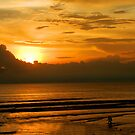 Seminyak sunset by Michael Brewer