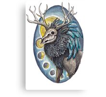 Undead Deer Canvas Print