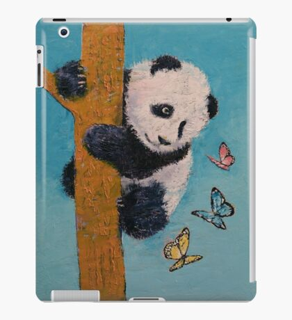 Panda Butterflies iPad Case/Skin