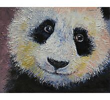 Panda Smile Photographic Print