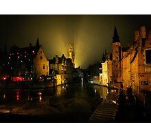 Brugge  Photographic Print