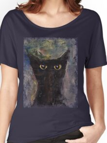 Ninja Cat Women's Relaxed Fit T-Shirt