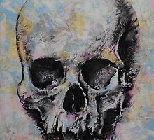 Medieval Skull by Michael Creese