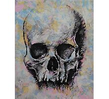Medieval Skull Photographic Print