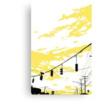 Skylines Canvas Print