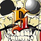 Siegeworks Skull iphones Case by Siegeworks .