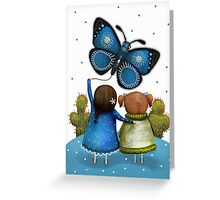 Butterfly Kite Greeting Card
