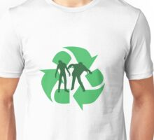 Even Zombies Recycle Unisex T-Shirt