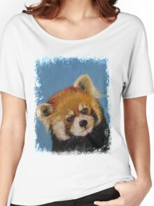 Red Panda Women's Relaxed Fit T-Shirt
