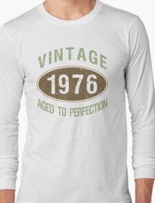 Vintage 1976 Birthday Long Sleeve T-Shirt