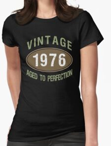 Vintage 1976 Birthday Womens Fitted T-Shirt