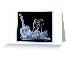 Topsy Turvy Tray - First Kiss Greeting Card