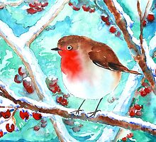 Robin Redbreast by WaterGardens