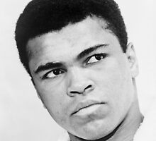 Cassius Clay - Muhammad Ali, 1967 by JoAnnFineArt