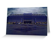 Home of the New York Giants Greeting Card