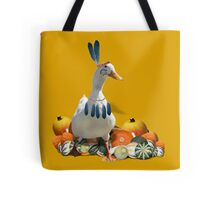 Thanksgiving Indian Boy - Duck Tote Bag