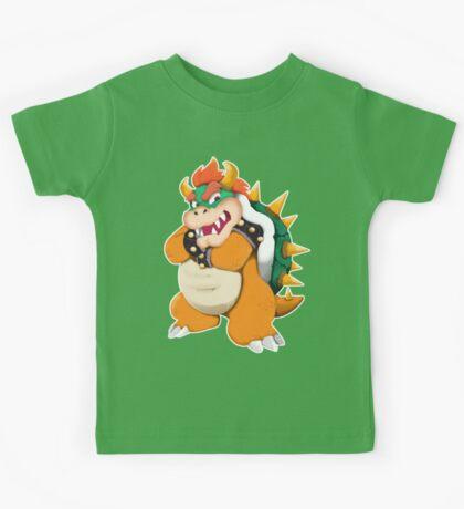 Bowser King Koopa Kids Tee
