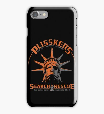 Snake Plissken's  Search & Rescue Pty Ltd iPhone Case/Skin