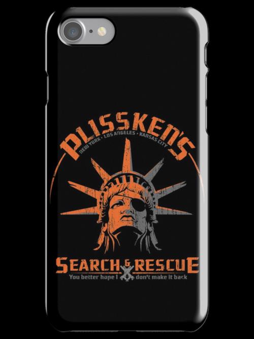 Snake Plissken's  Search & Rescue Pty Ltd by Vincent Carrozza
